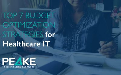 Top 7 Budget Optimization Strategies for Healthcare IT