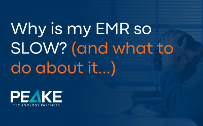 Why Is Your EMR So Slow and How to Fix It